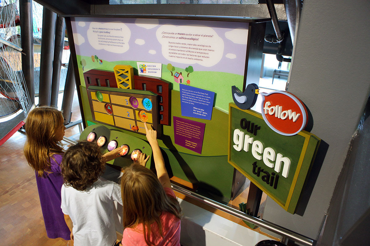 Boston Childrens Museum Green Trail Exhibit