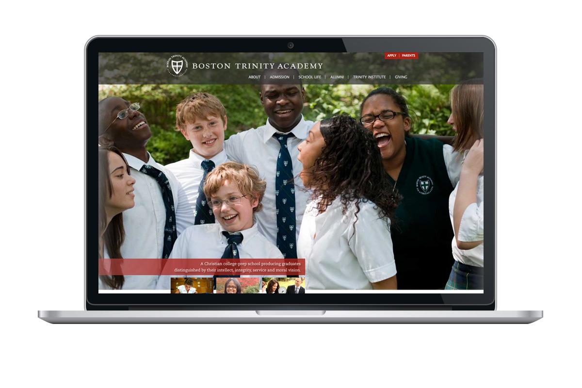 Boston Trinity Academy website