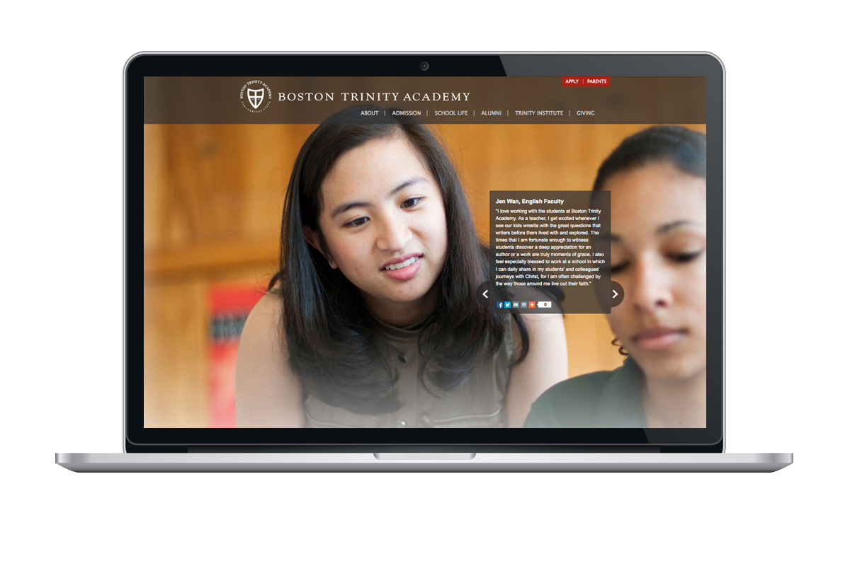 Boston Trinity Academy website