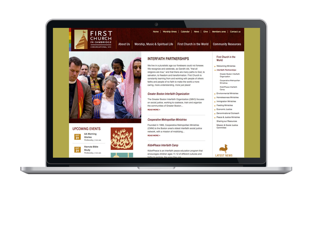First Congregational Church of Cambridge website