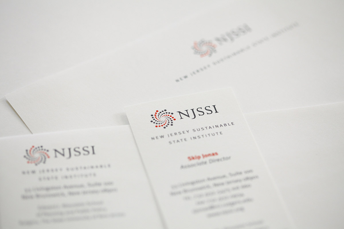New Jersey Sustainable State Institute stationery