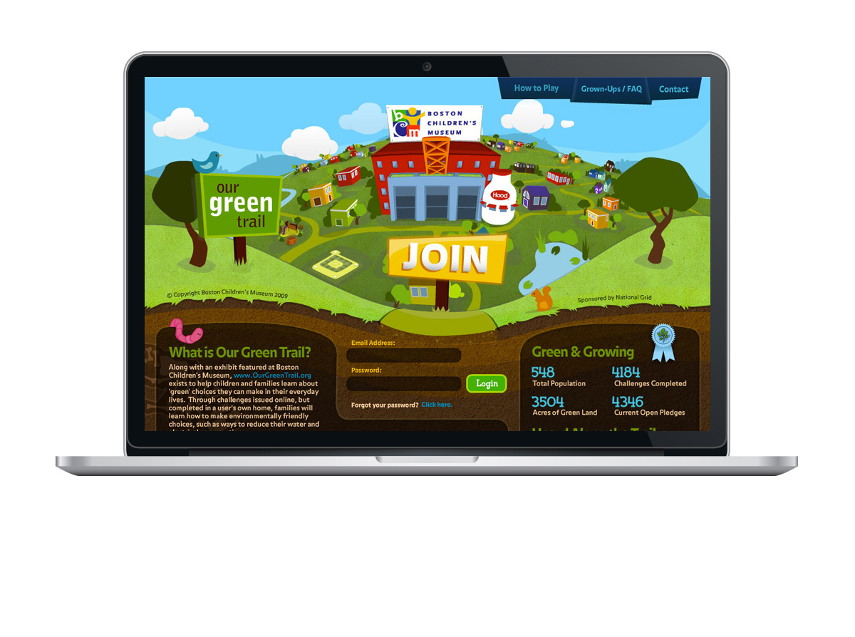 Boston Childrens Museum Green Trail Website