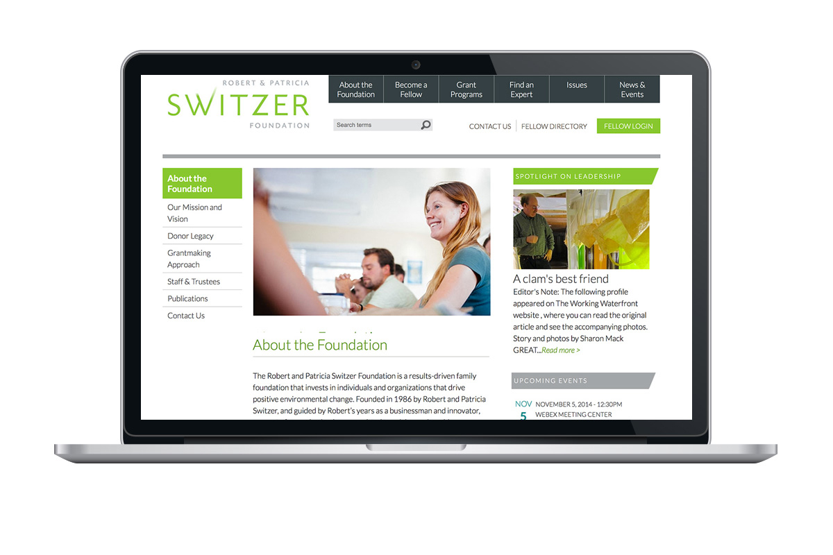 Switzer Network Website